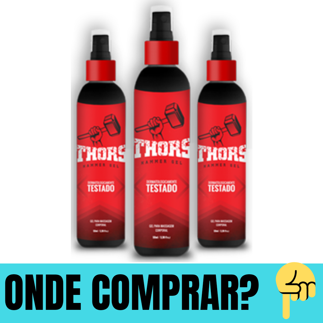 thors hammer gel para que serve
